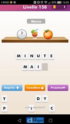 Emoji Quiz soluzione livello 158