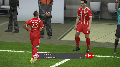 PES 2017 Bundesliga Scoreboard by 1002MB Season 2017/2018