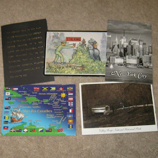postcards from my pen pals