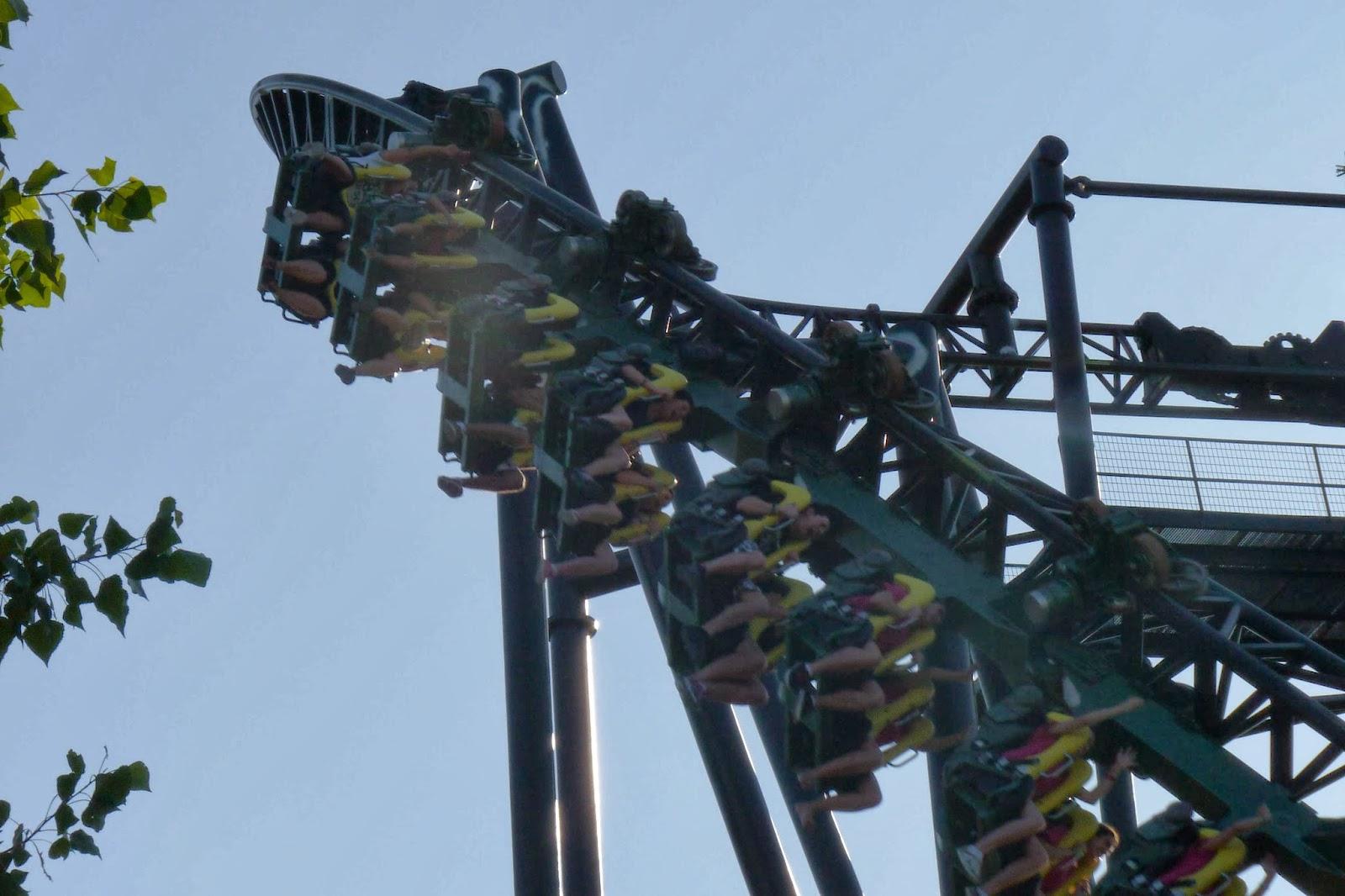 El Tornado-Parque de Atracciones de Madrid.