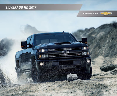 Downloadable 2017 Chevrolet Silverado 2500 HD Brochure