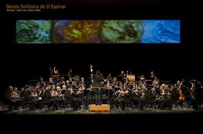 La Banda de Música de El Espinar segundo puesto en el X Certamen de Bandas Vila de la Sénia