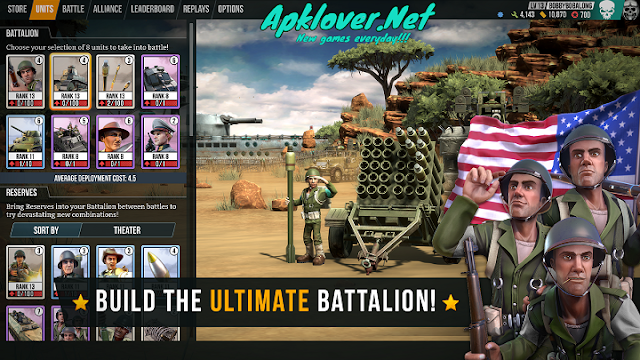 Battle Islands: Commanders MOD APK