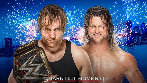 SummerSlam 2016 Ambrose vs Ziggler WWE Championship Match