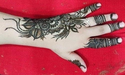 New Khaleeji Mehndi Designs For Hands