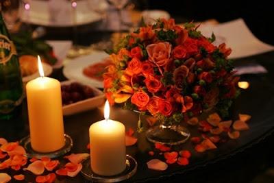 Ide Dekorasi Dengan Kelopak Bunga Mawar Tiruan / Artificial Rose Petals