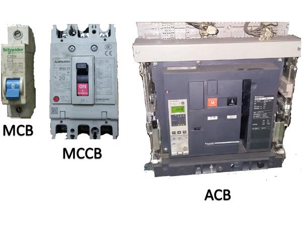 Fungsi MCB, MCCB dan ACB serta perbedaannya