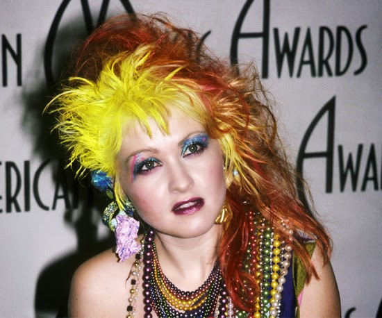 Cyndi Lauper S Fun Ct Colonial Is This Week S Most Popular: Tinklesmakeup: Eye Makeup Look 80's Icon Series : #1 Cyndi