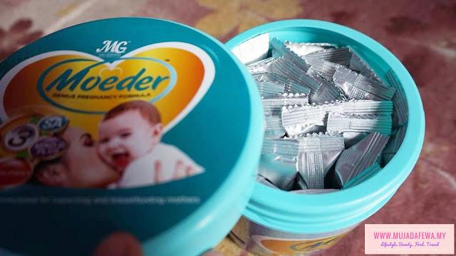 moeder milk booster, susu untuk banyakkan susu badan