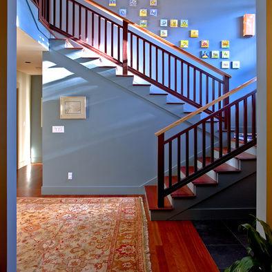 Biasa2 Kita Tgk Dinding Tangga D Biarkan Kosong Di Hias Dgn Frame2 Gmba Idea Tu Dh Selalu Ceduk Kebanyakan Rumah Mmg Buat Mcm