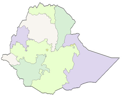 image: Ethiopia blank color Map