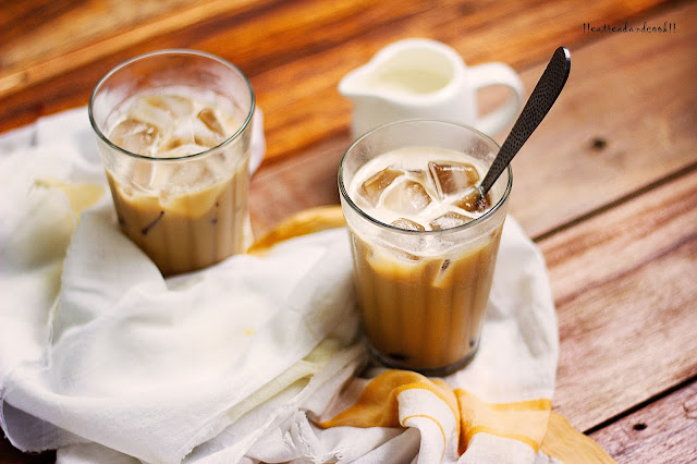how to make Iced Vanilla Coffee recipe and preparation