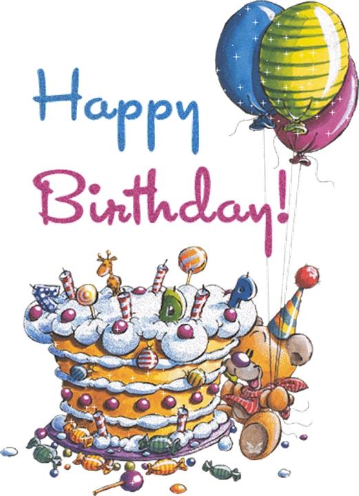 Поздравления днем рождения на английском открытка