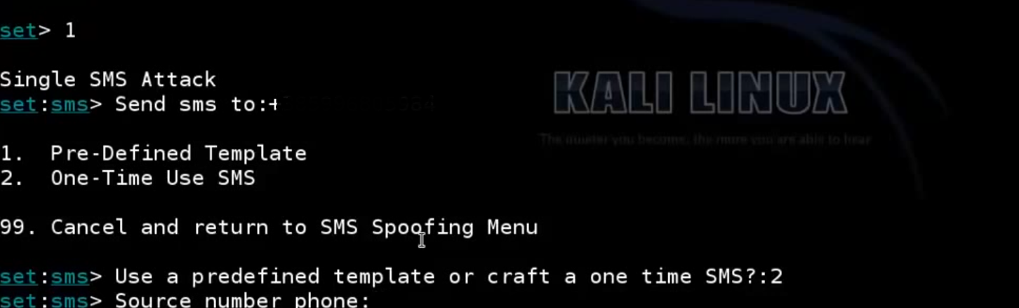 Learn Hacking: Sms Spoof