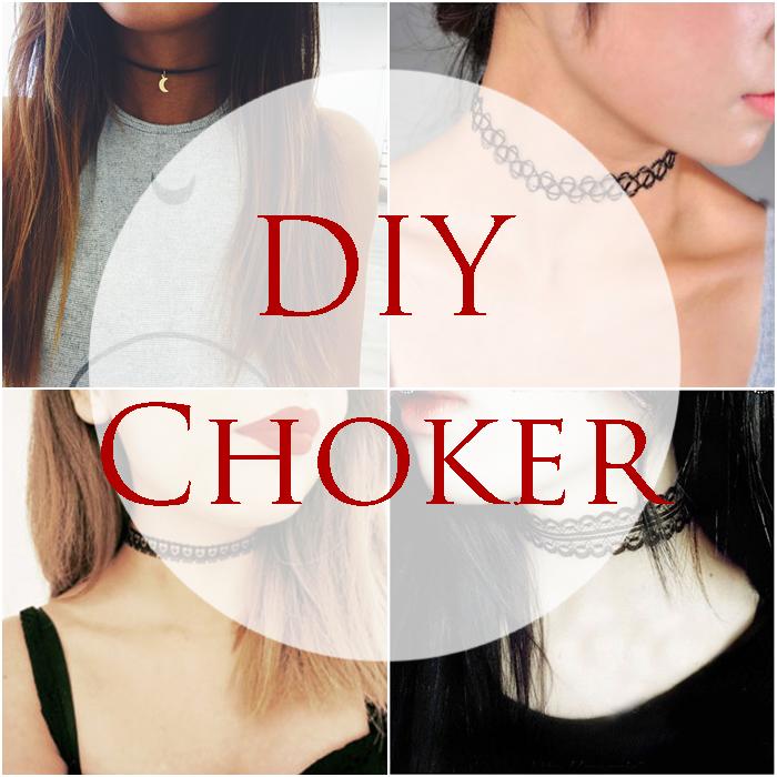 DIY: 3 x choker