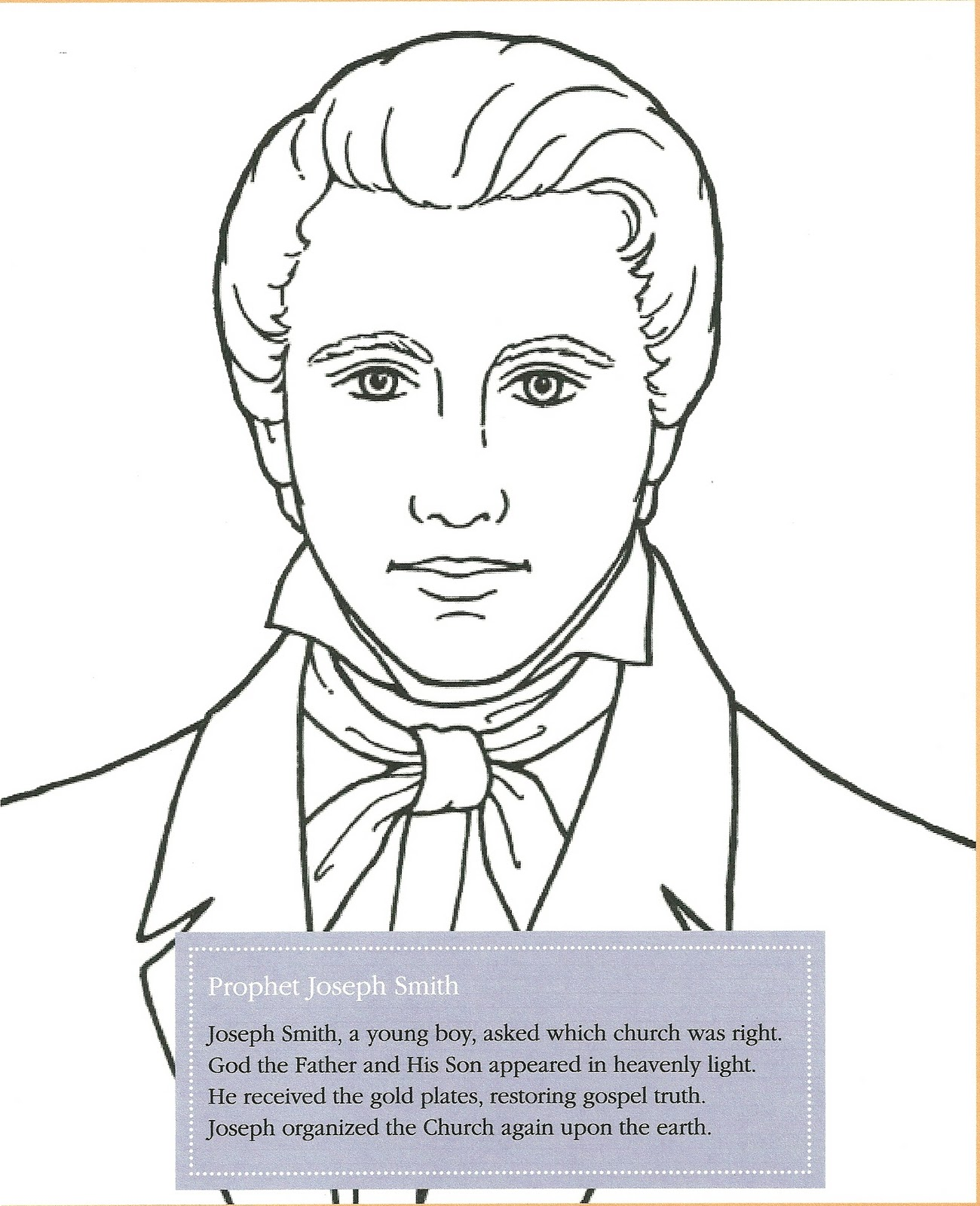 Happy clean living children conference ideas from the friend for Thomas s monson coloring page