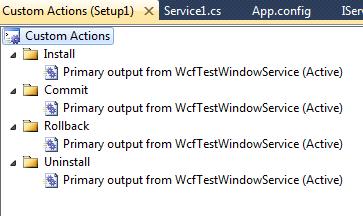Host a WCF service in Windows service in c# net