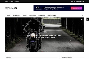 MashMag - Responsive Magazine Blogger Template