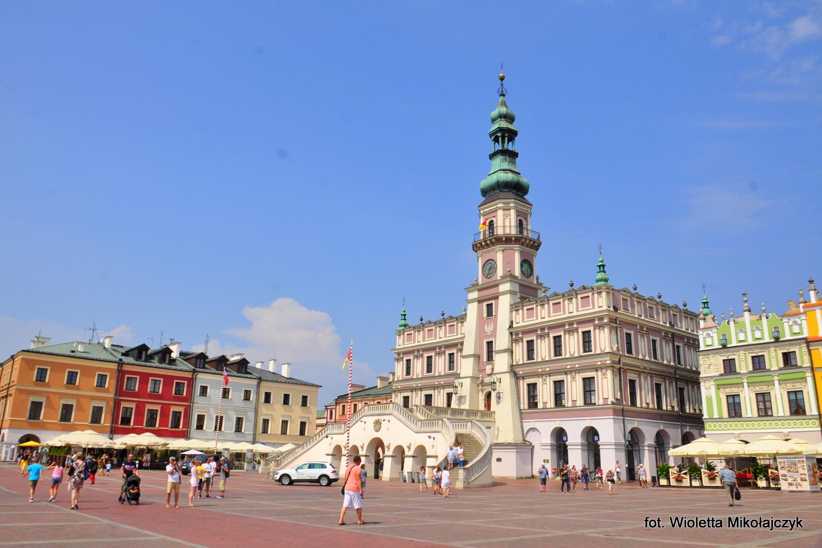 Jeden dzień w Zamościu, czyli zwiedzanie miasta zwanego perłą renesansu.