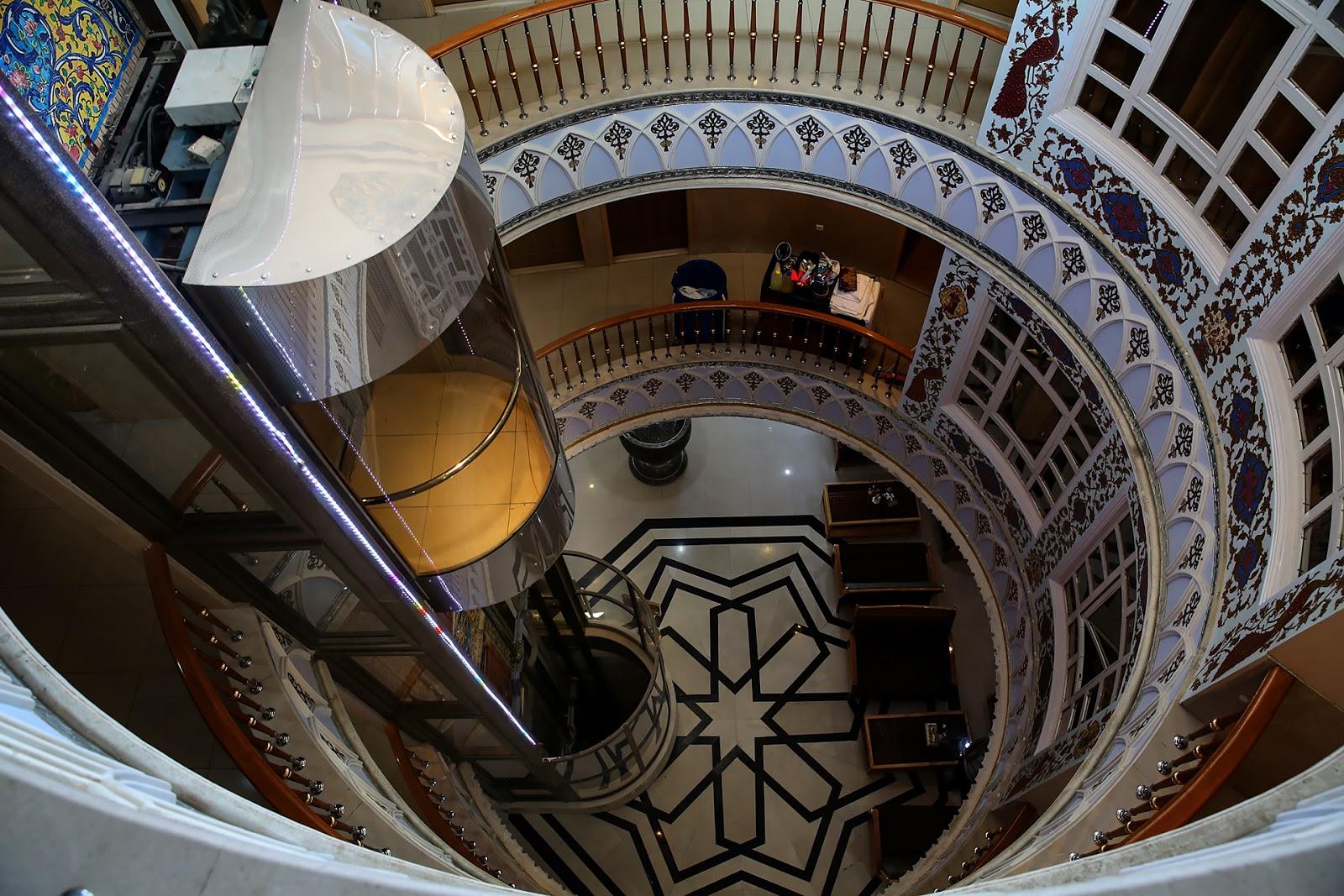 hotel,korytarz,Isfahan