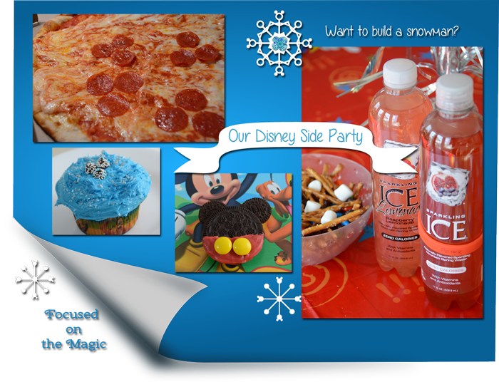 Our #DisneySide Party - Hidden Mickey Pepperoni Pizza!