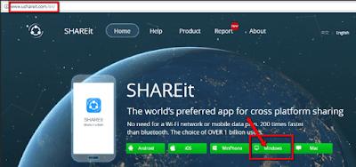 Panduan Cara Berbagi File 40 Kali Lebih Cepat dari bluetooth Menggunakan SHAREit