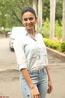 Rakul Preet Singh in Jeans and White Shirt At Jaya Janaki Nayaka le Logo Launch ~  Exclusive 021.JPG