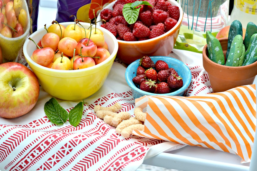 summer snack cart for kids