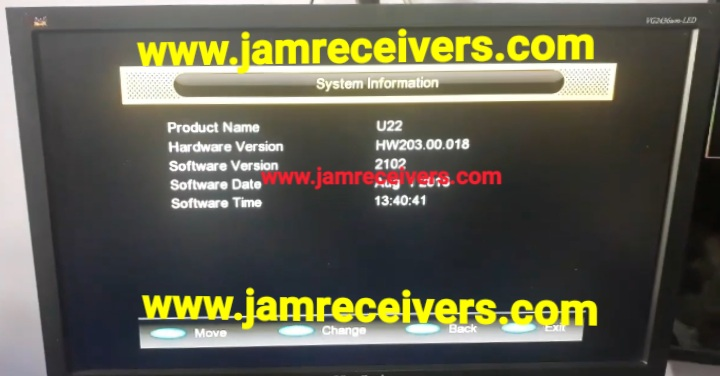 GX6605S HW 203 00 018 NEW POWERVU KEYS SOFTWARE 2019 - Jam
