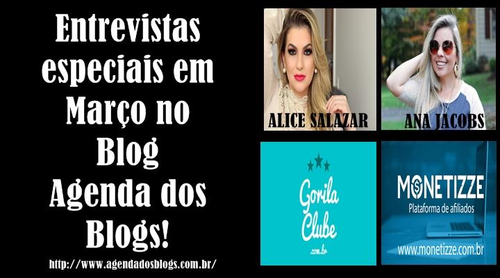 Alice Salazar,Ana Jacobs,Monetizze e Gorila Clube