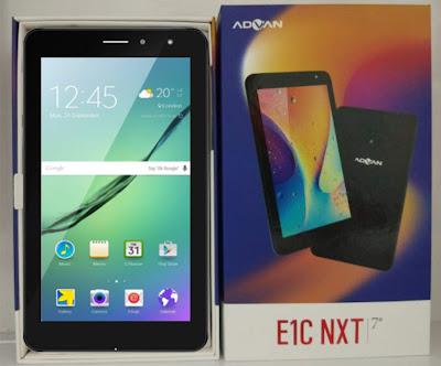 Hard Reset Tablet Advan E1C NXT