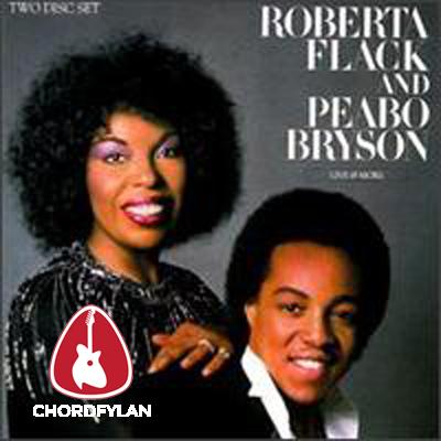 Lirik dan Chord Kunci Gitar Tonight I Celebrate My Love For You - Peabo Bryson ft. Roberta Flack