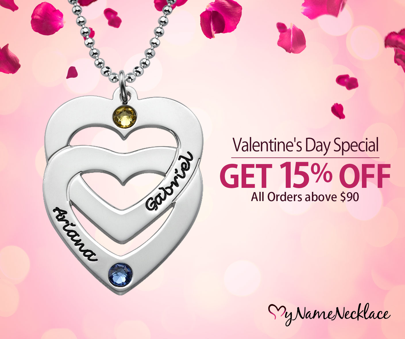 Valentine's Day Sale at MyNameNecklace