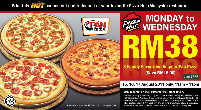Pizzahut discount coupon