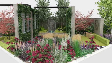 El oasis verde del West End londinense que se verá en Chelsea Flower Show 2018