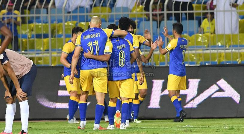النصر يتصدر الدوري السعودي بعد الفوز على فريق التعاون بهدفين لهدف