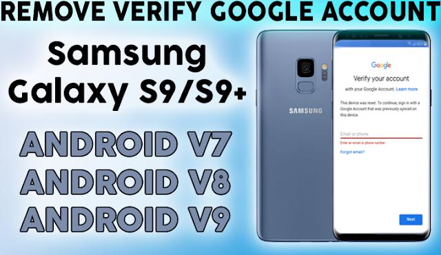 Samsung S9 Frp Bypass