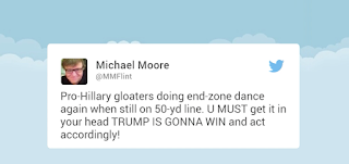 Michael Moore Says Trump Won The Debate