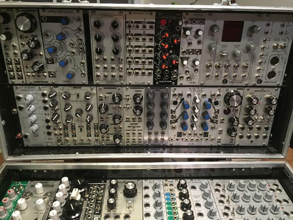 Euro Modular Synthesizer : matrixsynth complete euro rack modular synthesizer system ~ Hamham.info Haus und Dekorationen
