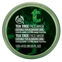 [The Body Shop] Masque d'arbre à thé