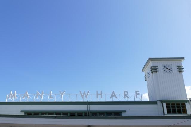 Manly, Beach, Wharf, Hafen, Fähre Ferry, Ankunft