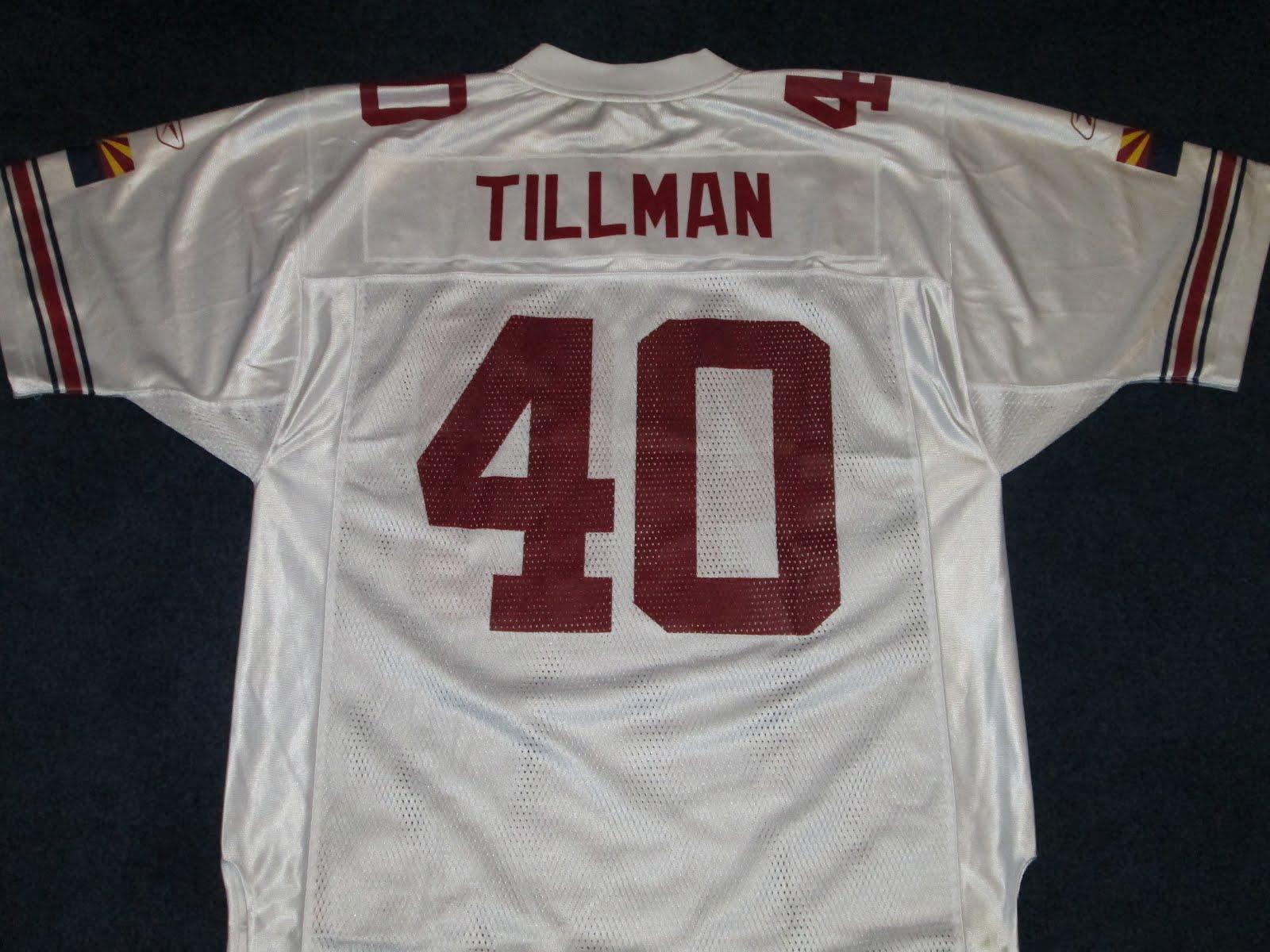 new styles 6ba84 c5cba Vintage10916 Store: Pat Tillman Arizona Cardinals #40 Reebok ...