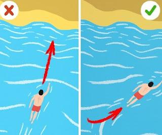 كيفية النجاة من الغرق