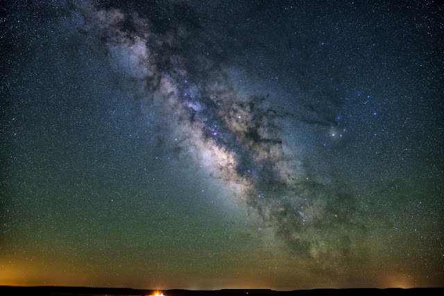In the Milky Way, the average distance between stars is about 5 light-years or 30 trillion miles
