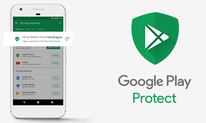 Google PLay Protect Android Malware