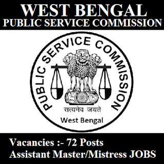 West Bengal Public Service Commission, PSCWB, WB, West Bengal, PSC, Assistant Master, Graduation, freejobalert, Sarkari Naukri, Latest Jobs, pscwb logo