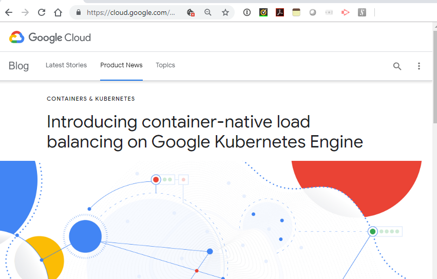 Google Cloud intros container-native load balancing ~ Converge