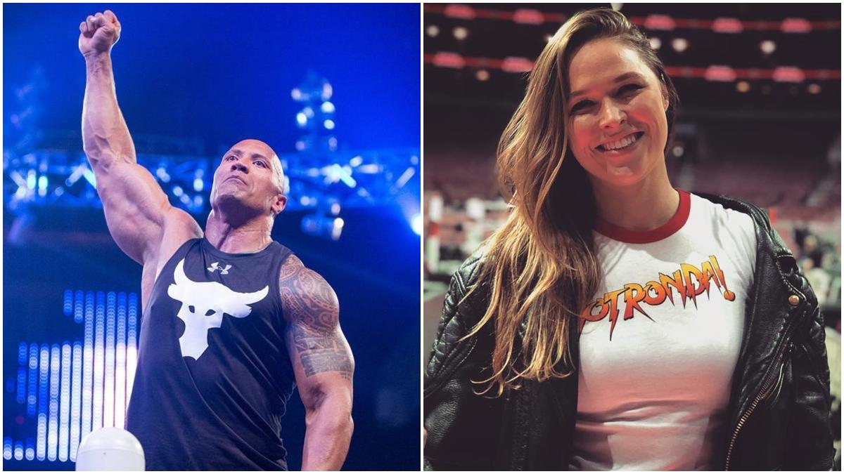 Stephanie McMahon quer contar com o retorno de The Rock e Ronda Rousey na WrestleMania 37