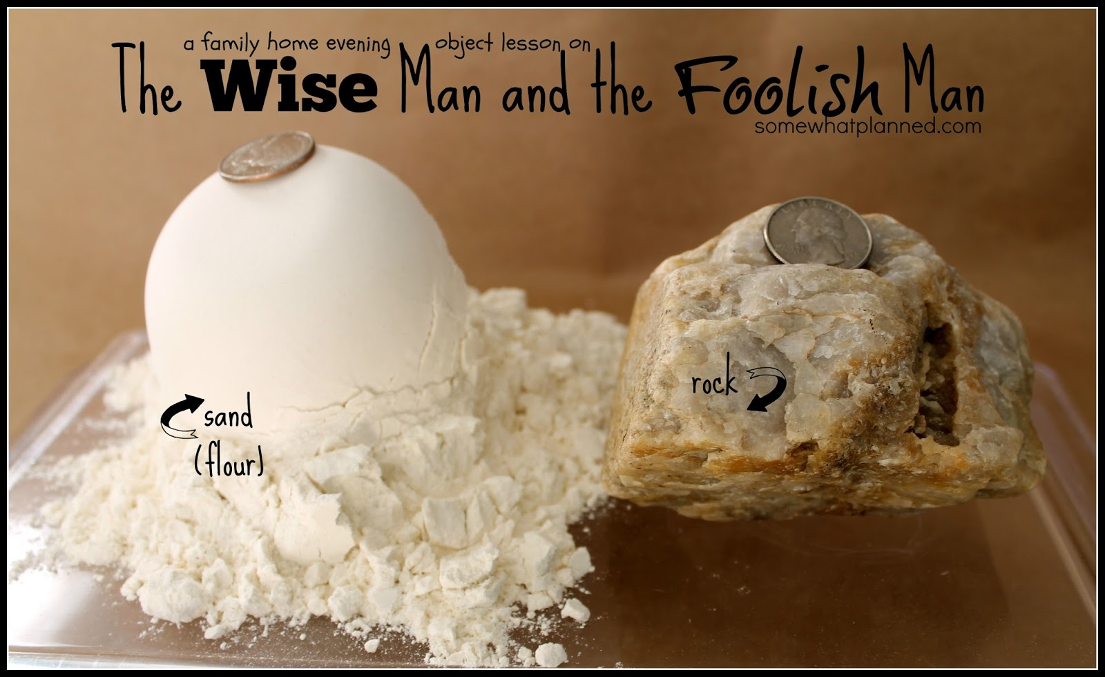 wise man and foolish man craft ideas fhe lesson the wise and the foolish somewhat 8162