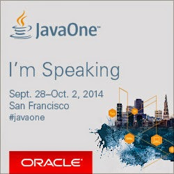 Speaking at JavaOne 2014